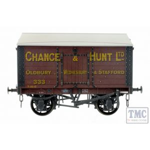 7F-018-001W Dapol O Gauge Salt Van Chance & Hunt Oldbury 333 Weathered