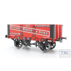 7F-052-002 Dapol O Gauge 5 Plank Wagon 9ft Wheelbase Richard Webster & Sons 102