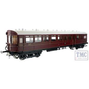 7P-004-007 Dapol O Gauge Autocoach GWR Lined Crimson 37