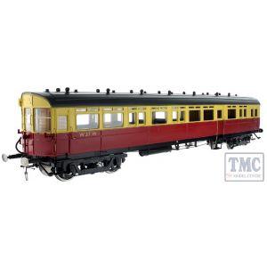 7P-004-008 Dapol O Gauge Autocoach BR Crimson/Cream 37