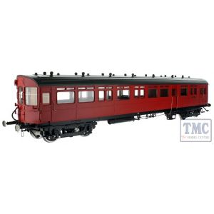 7P-004-009D Dapol O Gauge Autocoach BR Maroon 36 (DCC-Fitted)