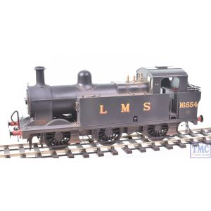 7S-026-002 Dapol O Gauge Fowler 3F Jinty 0-6-0 no.16554 LMS (Late) with Real Coal & Deluxe Weathering by TMC