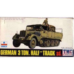 ESCI 1:72 German 3 Ton. Half-Track Nr. 8015 1:72 (Pre owned)