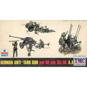 ESCI German Anti-Tank Gun Nr. 8020 1:72 (Pre owned)