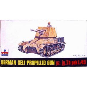 ESCI 1/72 German Self-Propelled Gun pz. jg. Ib pak L/43 Nr. 8046 1:72 (Pre owned)