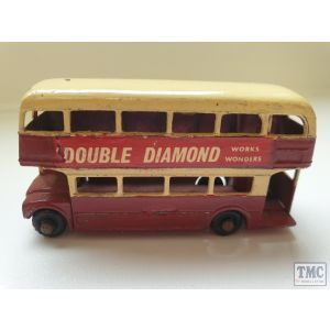 Matchbox Lesney Routemaster Bus No 1 (Play worn, Unboxed) (Pre owned)