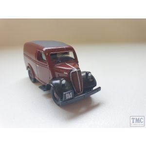 Classix Ford Thames Van Maroon (Unboxed) (Pre owned)