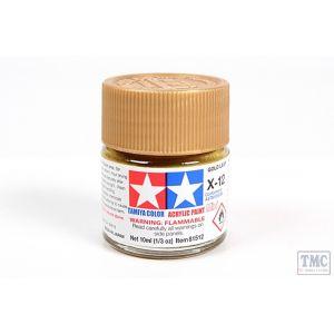 81512 Tamiya Acrylic Mini Paint X - 12 Gold Leaf