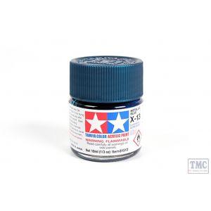 81513 Tamiya Acrylic Mini Paint X - 13 Metallic Blue