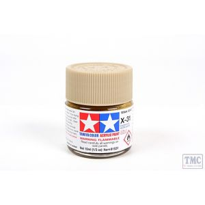 81531 Tamiya Acrylic Mini Paint X - 31 Titan. Gold