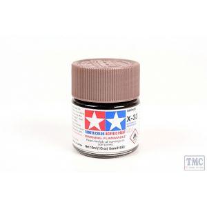 81533 Tamiya Acrylic Mini Paint X - 33 Bronze