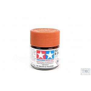 81534 Tamiya Acrylic Mini Paint X - 34 Metal. Brown
