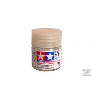 81535 Tamiya Acrylic Mini Paint X - 35 Semi Gloss Clear