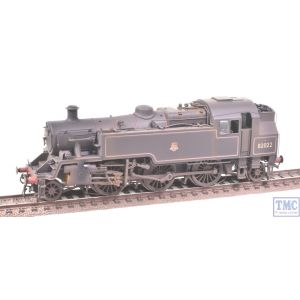 Bachmann OO Gauge Standard Class 3MT Tank 82022 BR Black E/Emb Parts Fitted Real Coal Shed 72A Renumbered & Weathered by TMC