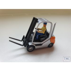 Wiking Fork Lift Truck With Cab (Unboxed) (Pre owned)