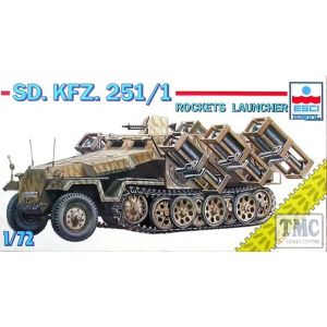ESCI Sd. Kfz. 251/1 Rockets Launcher Nr. 8344 1:72 (Pre owned)