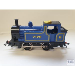 Hornby 0-4-0 Blue Tank Engine Unboxed needs X04 motor (Pre-Owned)