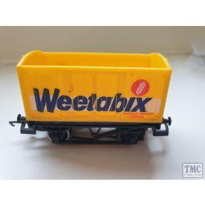 Hornby OO Gauge Weetabix Van Unboxed No Roof (Pre-Owned)
