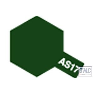 86517 Tamiya AS-17 Dark Green(IJA) Acrylic Aircraft Colours
