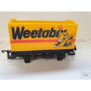 Hornby OO Gauge Weetabix Van Unboxed No wheels/roof (Pre-Owned)