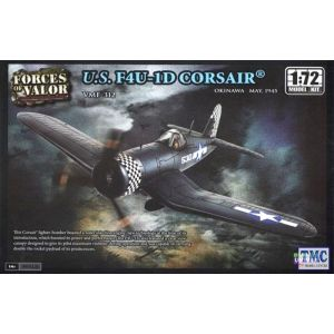 87006 Forces Of Valor 1/72 Vought F4U-1D Corsair - Plastic Model Kit