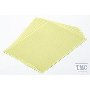 87129 Tamiya Masking Sheet 1 mm Grid x 5
