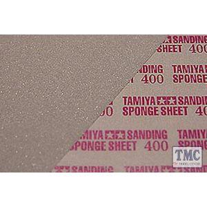 87147 Tamiya Sanding Sponge Sheet 400