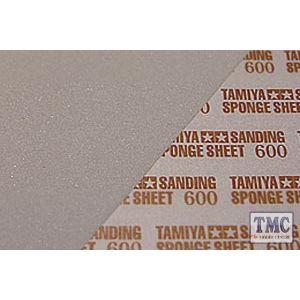87148 Tamiya Sanding Sponge Sheet 600