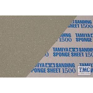 87150 Tamiya Sanding Sponge Sheet 1500