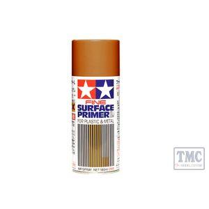 87160 Tamiya Fine Surface Primer L Red Oxide 180ml Primer Spray