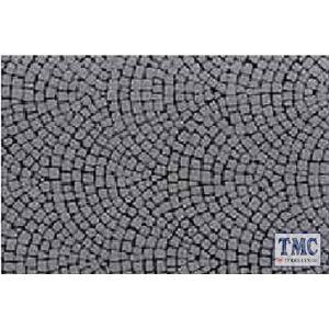 87165 Tamiya Diorama Material Sheet (Stone Paving A)