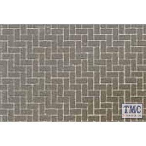 87169 Tamiya Diorama Material Sheet (Gray - Colored Brickwork A)