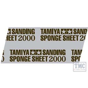 87170 Tamiya Sanding Sponge Sheet 2000