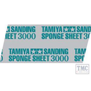 87171 Tamiya Sanding Sponge Sheet 3000