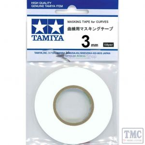 87178 Tamiya Masking Tape for Curves 3mm
