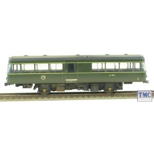 11087531 Heljan OO/HO Gauge Park Royal Railbus M79972 BR Green Weathered by TMC