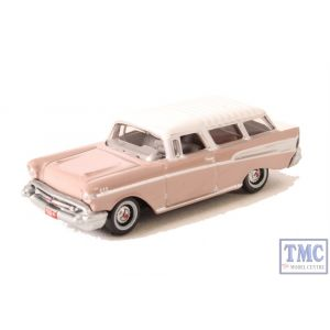 87CN57001 Oxford Diecast 1:87 Scale HO Gauge Chevrolet Nomad 1957 Dusk Pearl/Imperial Ivory
