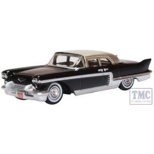 87CE57001 Oxford Diecast HO Gauge Cadillac Eldorado Brougham 1957 Ebony