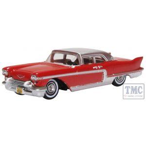 87CE57002 Oxford Diecast 1/87 Scale HO Gauge Cadillac Eldorado Brougham 1957 Dakota Red
