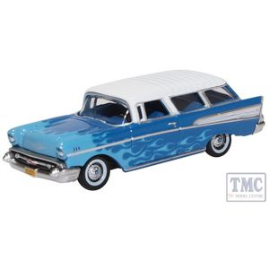 87CN57005 Oxford Diecast 1:76 Scale OO Gauge Chevrolet Nomad 1957 Hot Rod