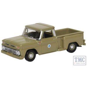 87CP65006 Oxford Diecast HO Gauge Chevrolet Stepside Pick Up 1965 Bell System