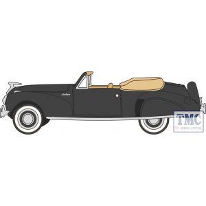 87LC41006 Oxford Diecast  Lincoln Continental 1941 Black/Tan