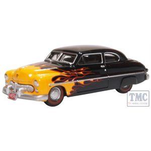 87ME49009 Oxford Diecast  Mercury Coupe 1949 Hot Rod