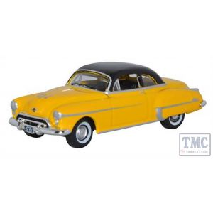87OR50003 Oxford Diecast 1:87 Scale Oldsmobile Rocket 88 Coupe 1950 Yellow/Black