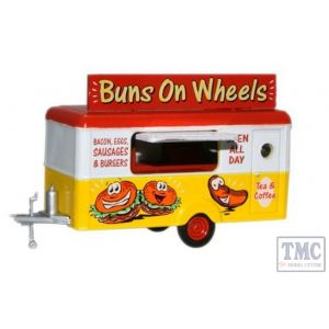 87TR006 Oxford Diecast  Mobile Trailer Buns on Wheels