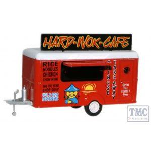 87TR007 Oxford Diecast  Mobile Trailer Hard Wok Cafe