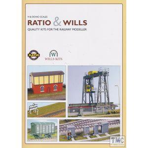 905 Ratio OO/HO Gauge Ratio/wills Full Colour Catalogue