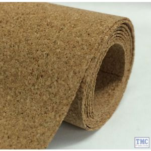 92-201-12 GRANORTE Cork Sheet Roll - 10m x 1m x 2mm Thick - ideal for larger layouts