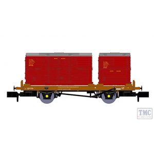 905001 Rapido Trains N Gauge Class 28 D5709 Plain BR Green