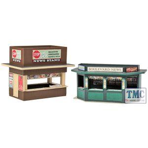 933-3773 Walthers (Cornerstone) Two City Sidewalk Newsstands
